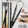 อายไลเนอร์ 2 หัว Sivanna Long Lasting eyeliner 2 in 1 BR1885