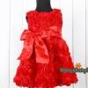 ชุดเจ้าหญิงออกงานสีแดง