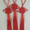 เชือกถักจีน สีเเดง