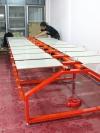 โต๊ะสกรีนเหล็กพับ3mm(ชุด18แป้นพิมพ์)