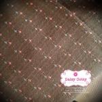 ผ้าทอญี่ปุ่น 1/4ม.(50x55ซม.) โทนน้ำตาล