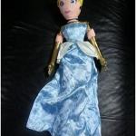 ตุ๊กตาตัวนิ่มซินเดอเรลล่า/ Plush Cinderella Doll -- 30'' H