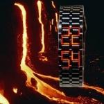 นาฬิกาลาวา LED watch01