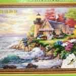 ภาพวาดแคนวาส บ้าน5 can13
