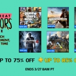 PlayStation Store US - The Great Indoors Sale ลดสูงสุด 85%