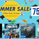 PlayStation Store Thai - Summer Sale ลดสูงสุด 75%