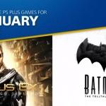 PS Plus US - เกมฟรี เดือน มกราคม 2018