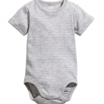 H&M: Short-sleeved Bodysuit Size: 4-6Month