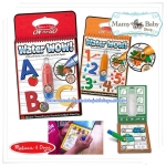 "ABC & 123 ""Water Wow!"" Coloring Board Book"