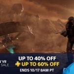 PSN Store US - PS4 & PS VR Sale ลดสุงสุด 60%