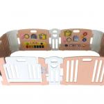 คอกกั้นเด็ก Haenim new สี Rose Gold รุ่น Melody+ Playgame ไซส์ M