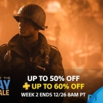 PS Store US - Holiday Sale week 2 ลดสูงสุด 60%