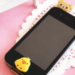 จุกเสียบไอโฟน(จุกปิดกันฝุ่น) ไอโฟน4/4s/ซัมซุง ตัวการ์ตูน