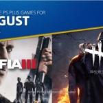 PlayStation Plus US - เกมฟรี เดือน สิงหาคม 2018