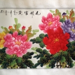 ภาพวาด ดอกโบตั๋น zen03