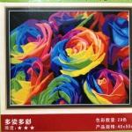 ภาพวาดแคนวาส ดอกกุหลาบ can17