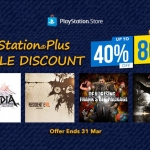 PlayStation Store Thai - Double Discount ลดสุงสุด 80%