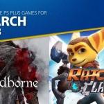 PlayStation Plus US - เกมฟรี เดือน มีนาคม 2018