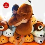 หมีหลับตัวใหญ่ นุ่มนิ่ม ของขวัญพิเศษ