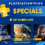 PS Store US - PlayStation Plus Specials ลดสูงสุด 80%