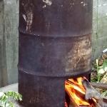การทำมะพร้าวเผา
