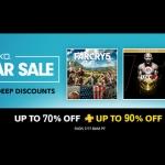 PlayStation Store US - Mid-Year Sale ลดสูงสุด 90%