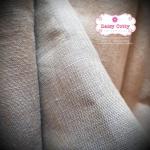 ผ้าลินิน สีเทา ขนาด 1/4 ม.(50x55ซม.)