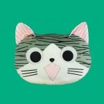 หมอนนิ่ม 3D แมวจี้