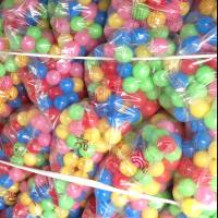 บอลปลอดสารพิษคละสี นำเข้าจากเกาหลี
