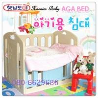 เตียงเด็กอ่อนพลาสติก ยี่ห้อ Haenim