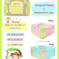 คอกกั้นเด็ก เกาหลี IFAM original Pastel รุ่น Marshmallow plus