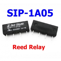 SIP-1A05 Reed Switch Relay 5V Voltage 1A