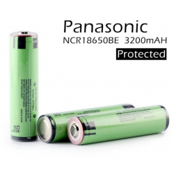 Panasonic NCR18650BM Protected 3200mAh 3.7V 18650 Lithium Battery (พร้อมวงจรป้องกัน)