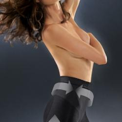 Control Body ชุดกระชับสัดส่วน แบบกางเกงเอวสูงขาสั้น ขอบเอวมีซิลิโคนกันม้วน ลดกระชับ เซลลูไลท์ เส้นเลือดขอด รอยแตกลาย หลังคลอด หลังดูดไขมัน