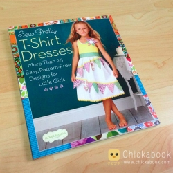 Book review Sew pretty t-shirt dresses: more than 25 easy, pattern-free designs for little girls