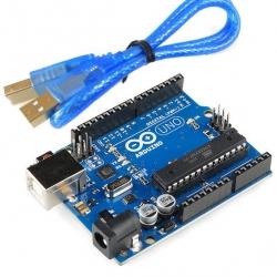 Arduino UNO R3 (พร้อมสาย USB ) ATMEGA328P USB ATMEGA16U2
