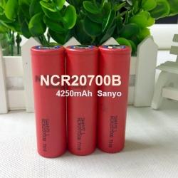 20700 Sanyo NCR20700B 4250mAh 3.7VLi-ionBattery