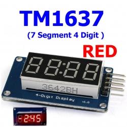 TM1637 ( 7 Segment 4 Digit ) RED