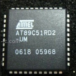ATMEL AT89C51RD2-UM PLCC44