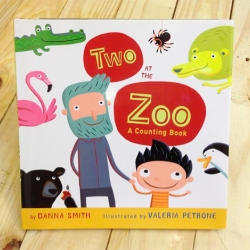 Book review: Two at the Zoo (a counting book)