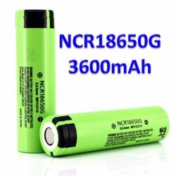 Panasonic NCR18650G 3600mAh 3.7V 18650 Lithium Battery