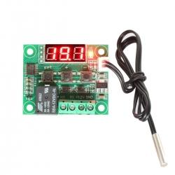W1209 XH-W1209 [STM8S003F3P6] (ของแท้) Digital Cool/Heat บอร์ดควบคุม เปิด/ปิด ตามอุณหภูมิ
