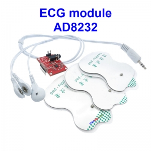 AD8232 ECG measurement pulse heart ecg monitoring sensor module kit