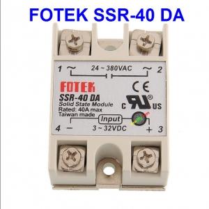 (40A) 24V-380V AC SSR-40DA DC-AC Solid State Relay Module
