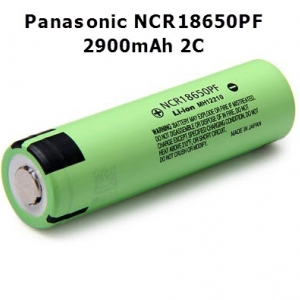 Panasonic NCR18650PF 2900mAh 3.7V (10A) Lithium Battery (ของแท้)