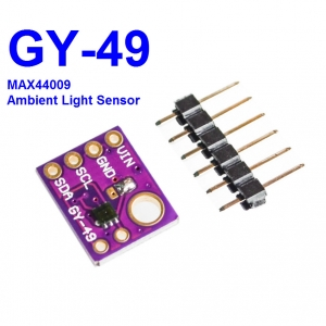 GY-49 MAX44009 Light Sensor 0.045 to 188,000 Lux