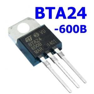 BTA24-600BRG BTA24-600 (TO-220) Triac 25A/600V, Logic Level and Standard Triac