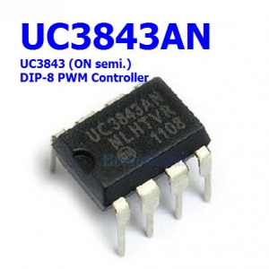 UC3843 (DIP8) Current-Mode PWM Controller