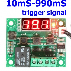 10mS-990mS trigger signal
