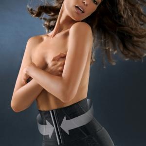 Control Body ชุดกระชับสัดส่วน แบบกางเกงในคอเซ็ท - BRIEF AND CORSET, HIGH COMPRESSION Shapewear